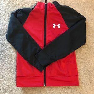 Youth Small Under Armour ZIP-up Jacket Sweatshirt